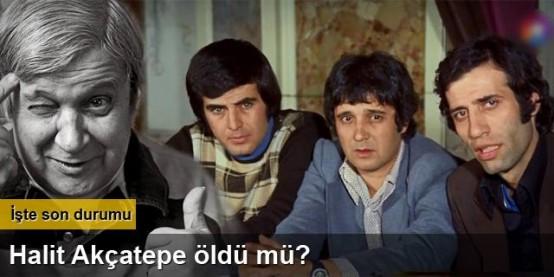 Twitter'da bu kez Halit Akçatepe'yi öldürdüler