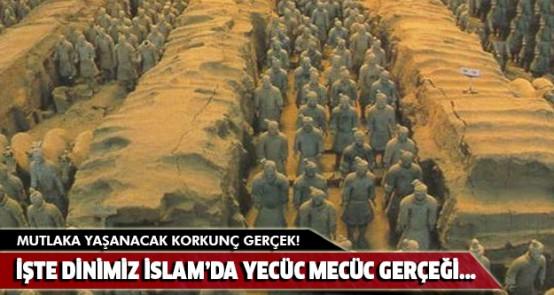 Mutlaka yaşanacak korkunç gerçek! İşte dinimiz İslam'da Yecüc Mecüc gerçeği...