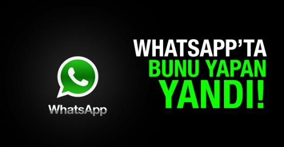 Whatsapp kullanana ceza