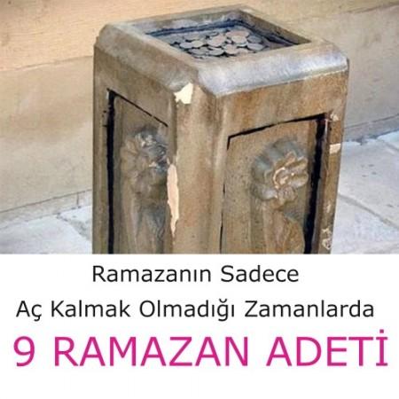 Ramazanın Sadece Aç Kalmak Olmadığı Zamanlarda 9 RAMAZAN ADETİ İŞTE O ADETLERİMİZ.!  DEVAMI İÇİN RESME TIKLAYINIZ....!