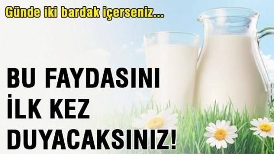 Süt içmemiz için 5 önemli neden!