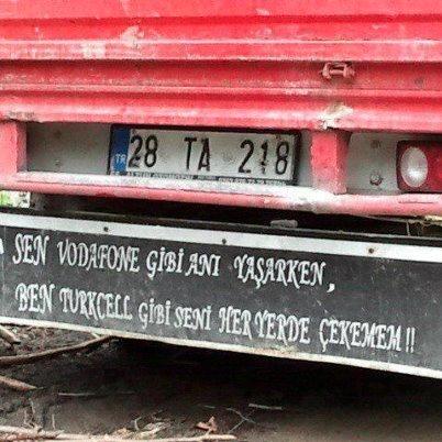 Kamyon Arkası Yazılar Inegölden Katkı Var Foto Gaeri