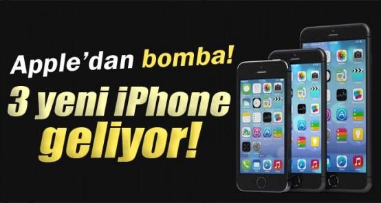 3 yeni iPhone geliyor!