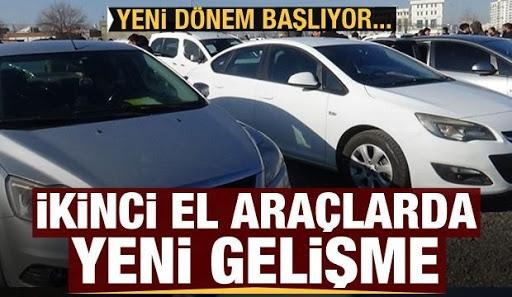 İkinci el otomobilde yeni dönem başlıyor! 50 bin lira cezası var