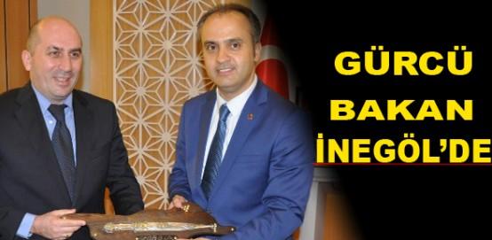 Gürcü bakan inegöl'de