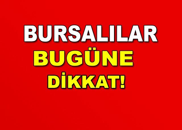 Bursa'da bugün sıcaklık en yüksek 23 derece olarak ölçülüyor. Meteoroloji yetkilileri yer yer sağanak ve gökgürültülü yağış beklendiğini bildirdi. Bursalılar dikkat! Meteoroloji uyardı: Bursa'da yarın kuvvetli sağanak görülecek.