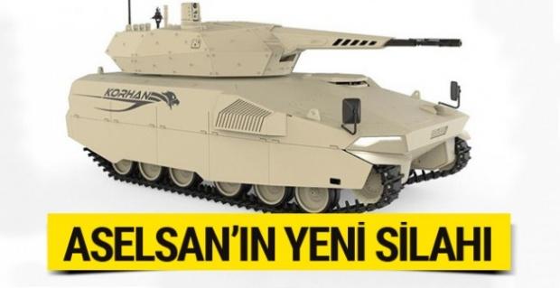 ASELSAN'ın yeni silahı KORHAN göreve hazır!