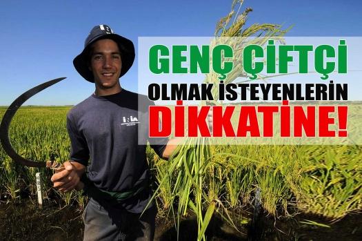 Genç çiftçilere hibe desteği başvuruları başladı!