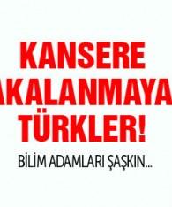 Kansere yakalanmayan Türkler! Doktorlar araştırıyor..