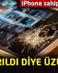 iPhone camı kırıldı diye üzülmeyin