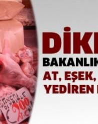 Dikkat! Bakanlık açıkladı... At, eşek ve domuz eti yediren firmalar!
