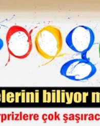 İşte Google'nin bilinmeyen şifreleri!