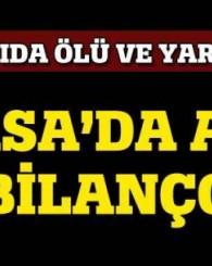 Bursa'da Lodosun Bilonçosu Ağır Oldu