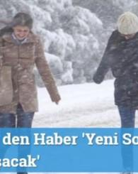 Meteoroloji' den Haber 'Yeni Soğuk İle Yine Çatılar Uçuşacak'