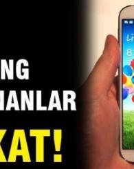Samsung'un telefonu patladı