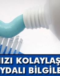 Dişlerinizi yemekten önce fırçalarsanız...