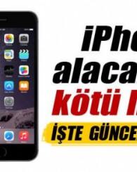 iPhone alacaklara kötü haber