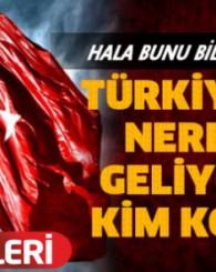Hala bilmeyenler var! Türkiye ismi nereden geliyor ve kim koydu?