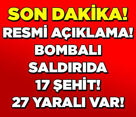 Hakkari Valisi: Şemdinli'deki Saldırıda 9'u asker 17 Şehit, 27 Yaralı Var