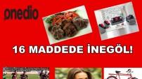 onedio.com'da paylaşılan 16 madede İnegöl haberi.