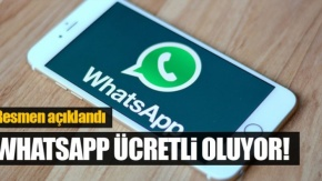 Watsapp ücretli oluyor!