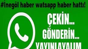 İnegöl Haber Whatsapp Haber Hattı devrede!