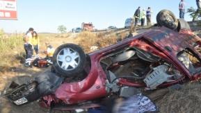 İnegöl'de feci kaza:7 ölü,18 yaralı