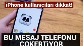 Bu mesaj iPhone'ları çökertiyor