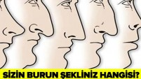 BURNUNUZUN ŞEKLİ KARAKTERİNİZİ ELE VERİYOR...