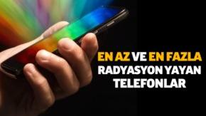 En çok radyasyon yayan akıllı telefonlar açıklandı!