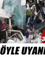 Yolcu otobüsleri kaza yaptı: 4 ölü, 33 yaralı