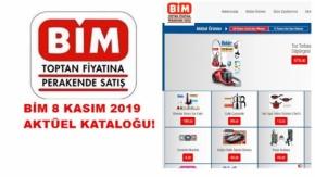 Bim 8 kasım 2019 broşürü