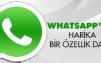 WhatsApp'ın Yeni Özelliğine Çok Şaşıracaksınız!