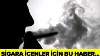 Sigara içinlere kötü haber!
