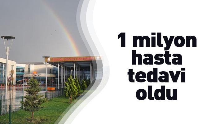 1 milyon hasta tedavi oldu
