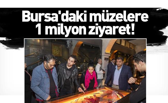 Bursa'daki müzeleri 2019 yılında 1 milyon kişi ziyaret etti