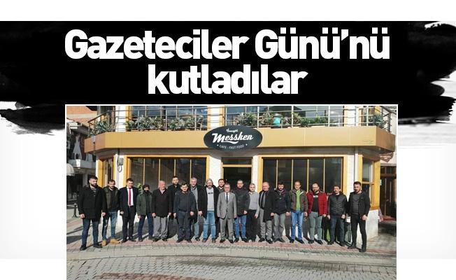 Gazeteciler Günü'nü kutladılar