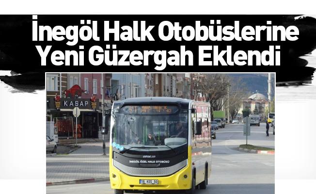 İnegöl Halk Otobüslerine Yeni Güzergah Eklendi