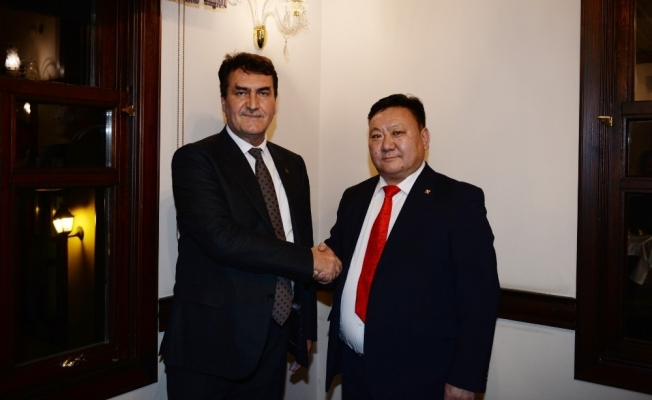 Osmangazi'ye Moğolistan'dan kardeş şehir