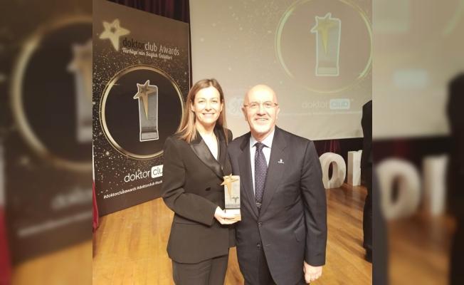 Prof. Dr. Gülşah Çeçener'e bir ödül daha
