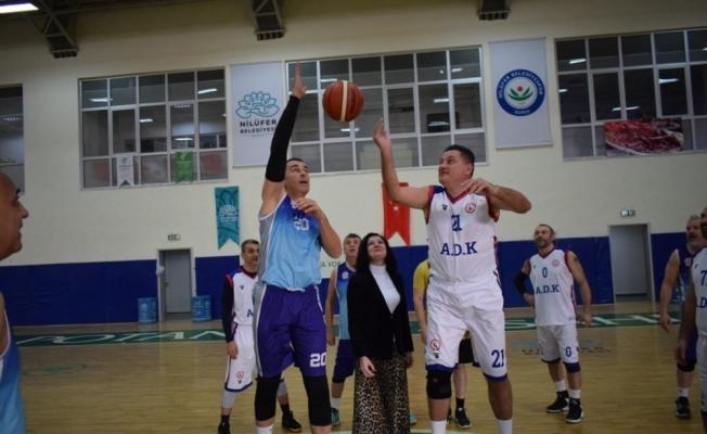 Veteran Basketbol Turnuvası'nda heyecan başladı