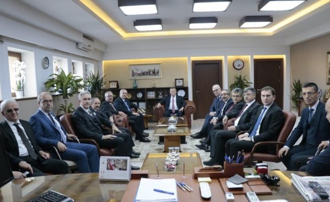 Yargıtay üyeleri Bursa Adalet Sarayını ziyaret etti