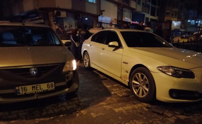 Bursa'da Alkollü Sürücü Duran Araca Çarptı