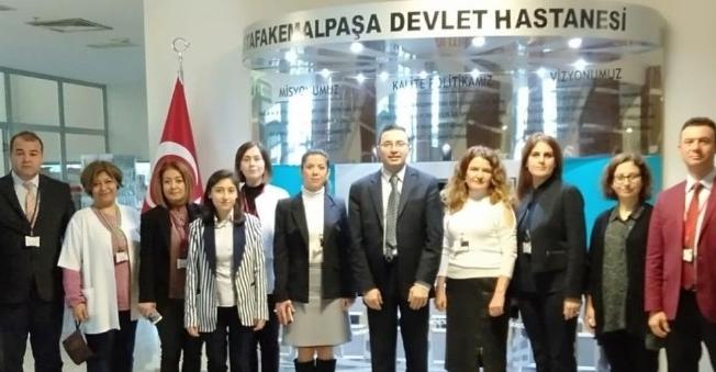 Mustafakemalpaşa Devlet Hastanesi'ne verimlilikte tam not