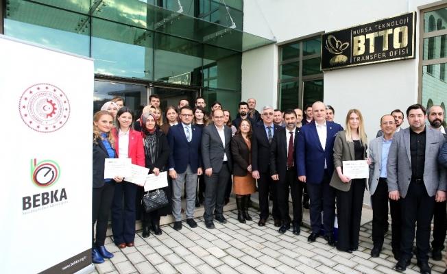 Bursa Teknik Üniversitesi'nde sertifika heyecanı