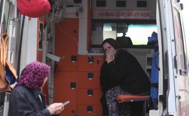 Bursa'da yangında 2 kişi dumandan etkilendi