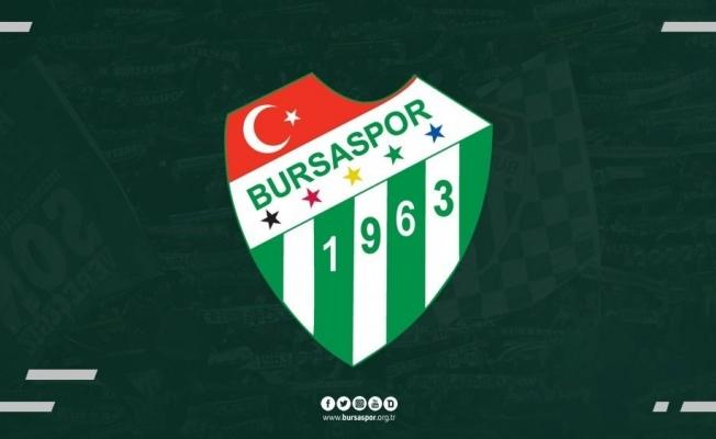 Bursaspor'dan 'kadro dışı' açıklaması