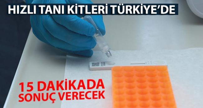 Hızlı tanı kitleri Türkiye'de