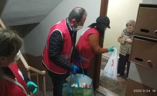 Mudanya'da gönülleri ısıtan destek
