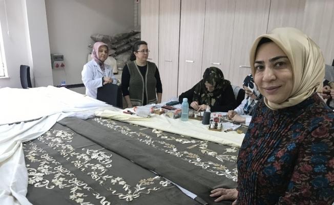Padişahlara paha biçilmez yeni örtüler Bursa'dan